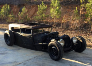1929 Ford Model A Sedan Hotrod Ratrod Chopped and Bagged - Sedan Sunday - 247Autoholic Blog - VonSkip